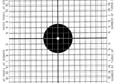 21 meter AK zero target