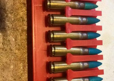 wood bullet training rounds
