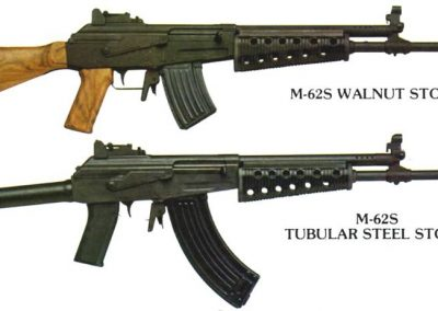 Valmet M62 Wood and Tube stocked variants