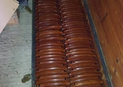 Bakelite mags in shipping case